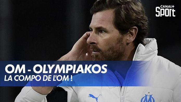 La composition de l'OM face à l'Olympiakos