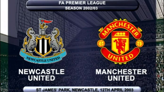 Newcastle - Man Utd 02/03 - Sezon 1