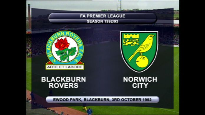 Blackburn-Norwich 92/93 - Sezon 1