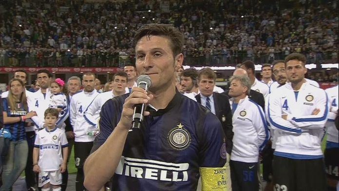 Pożegnanie Zanetti'ego - Sezon 1