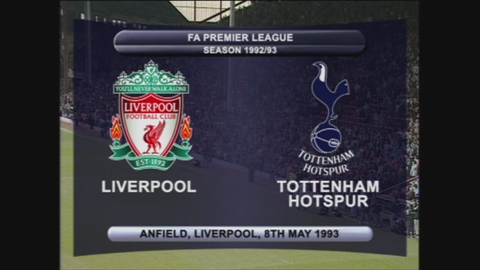 Liverpool - Spurs 92/93 - Sezon 1
