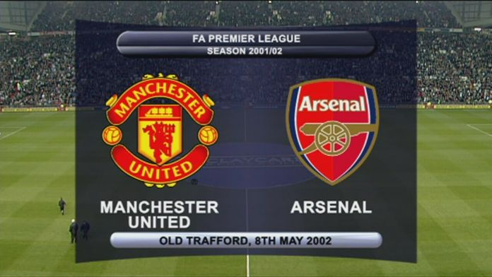 Man Utd - Arsenal 01/02 - Sezon 1