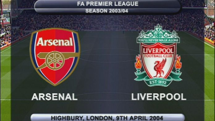 Arsenal - Liverpool 03/04 - Sezon 1