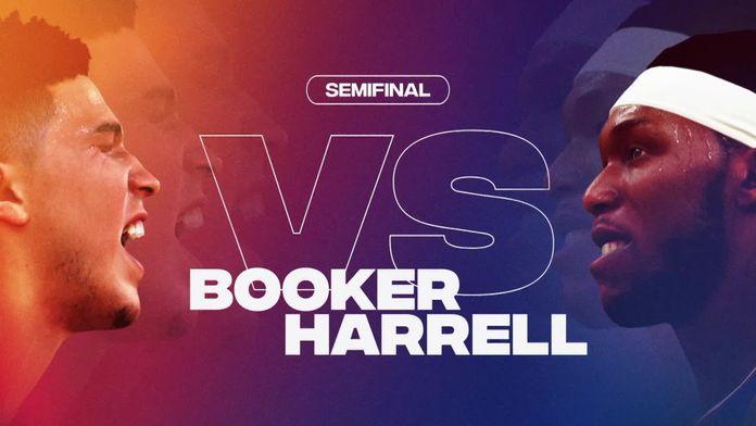Półfinał NBA2K20: Harrell - Booker mecz nr 1 - Sezon 1