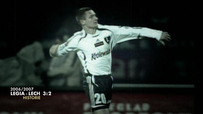 Legia - Lech z sezonu 06/07