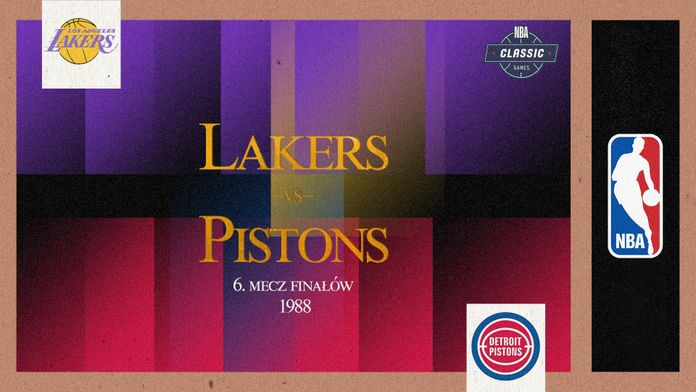 Finały 1988: Los Angeles Lakers - Detroit Pistons - Sezon 1