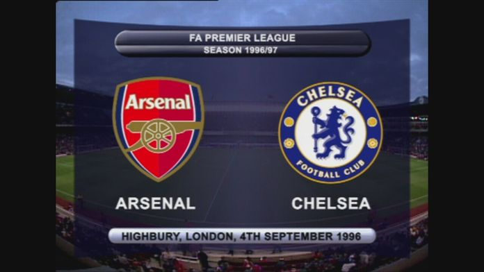 Arsenal - Chelsea 96/97 - Sezon 1