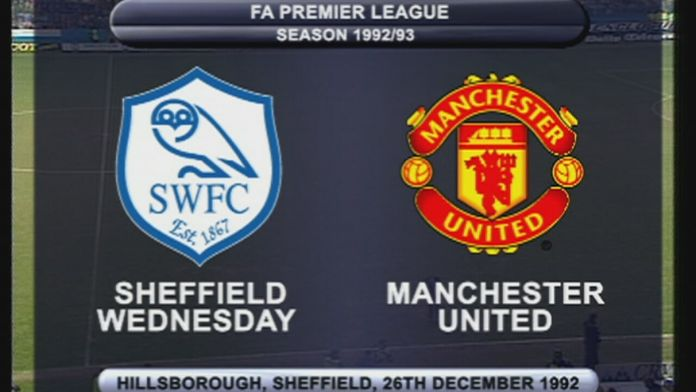 Sheffield Wednesday - Man Utd 92/93 - Sezon 1
