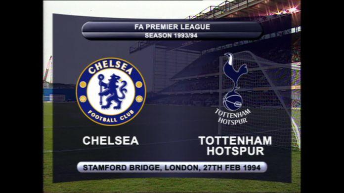 Chelsea - Spurs 93/94 - Sezon 1