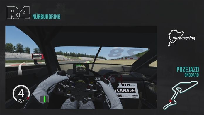 Assetto Corsa Simracing: R4 DTM Nurburgring - Sezon 1