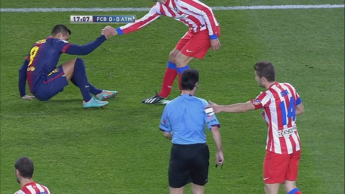 Barcelona - Atletico Madryt z grudnia 2012