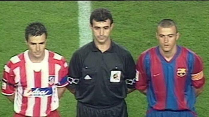 Barcelona - Atletico Madryt z września 2002