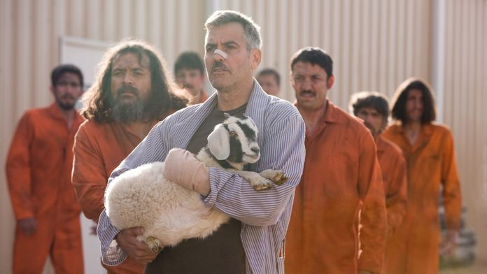 Człowiek, który gapił się na kozy