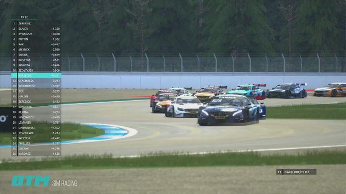 Assetto Corsa Simracing: R6 DTM Hockenheimring - Sezon 1