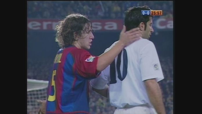 Listopad 2002: Barcelona - Real (2. połowa) - Sezon 1