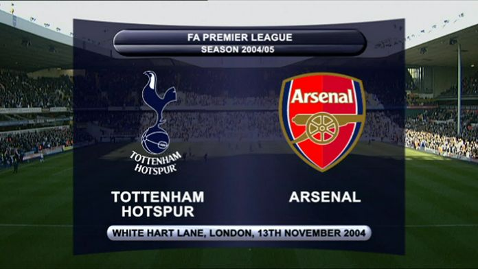 Tottenham - Arsenal 04/05 - Sezon 1