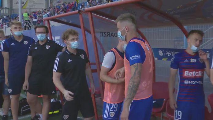 Skrót meczu Piast Gliwice - Śląsk Wrocław