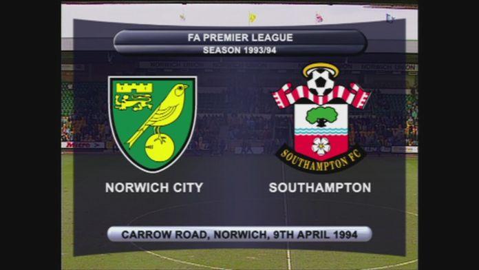 Norwich - Southampton 93/94 - Sezon 1
