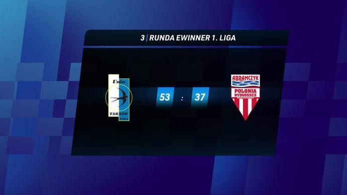 Skrót meczu Unia Tarnów - Polonia Bydgoszcz
