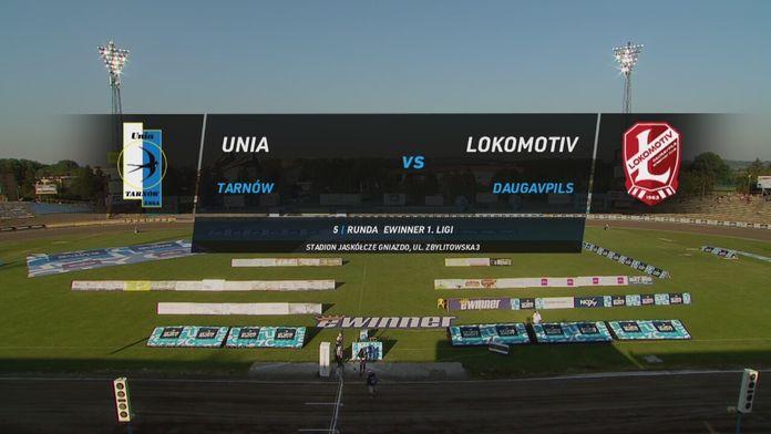 eWinner 1. liga żużlowa, 5. runda: Unia Tarnów - Lokomotiv Daugavpils