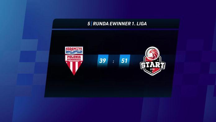 Skrót meczu Polonia Bydgoszcz - Start Gniezno
