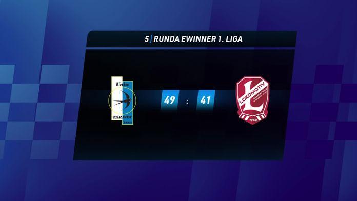 Skrót meczu Unia Tarnów - Lokomotiv Daugavpils