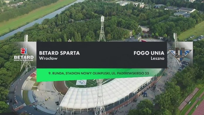 PGE Ekstraliga, 9. runda: Betard Sparta Wrocław - Fogo Unia Leszno
