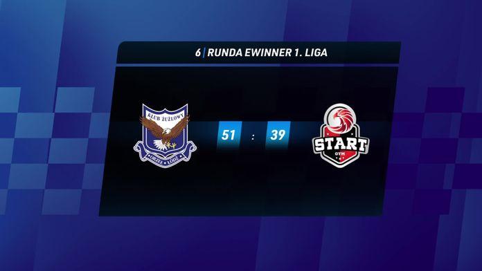 Skrót meczu Orzeł Łódź - Start Gniezno