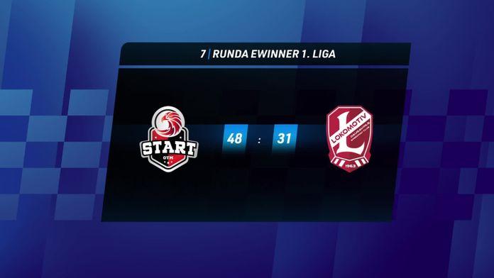Skrót meczu Start Gniezno - Lokomotiv Dauvgapils