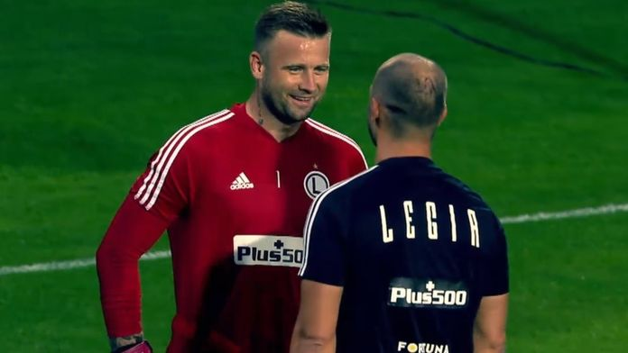 Skrót meczu Raków - Legia