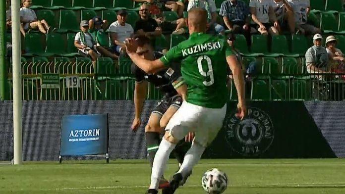 Skrót meczu Warta - Lechia
