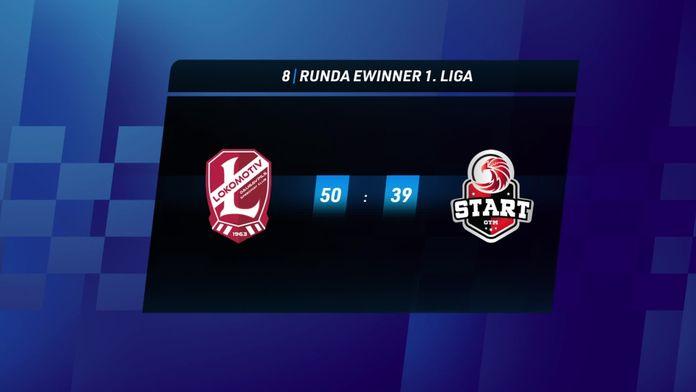 Skrót meczu Lokomotiv Daugavpils - Start Gniezno