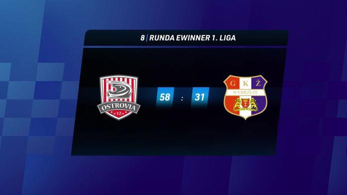 Skrót meczu Ostrovia Ostrów Wlkp - Wybrzeże Gdańsk