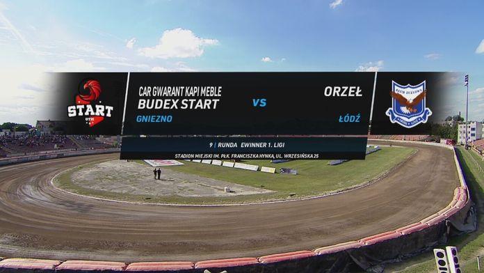 eWinner 1. Liga Żużlowa, 9. runda: Start Gniezno - Orzeł Łódź