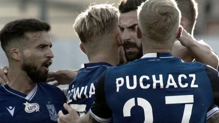 Skrót meczu Lech Poznań - Wisła Płock