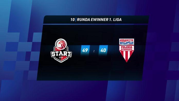Skrót meczu Start Gniezno - Polonia Bydgoszcz