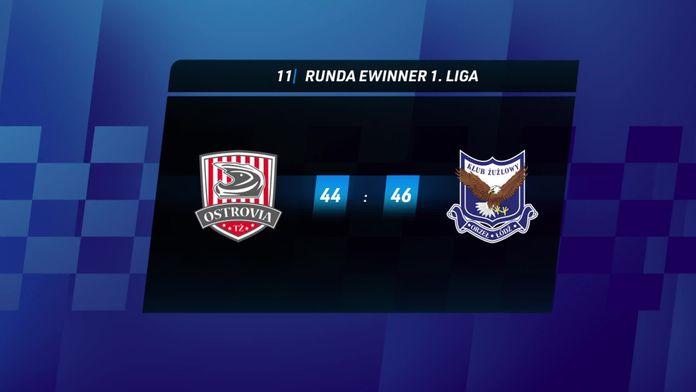 Skrót meczu Ostrovia Ostrów Wlkp - Orzeł Łódź