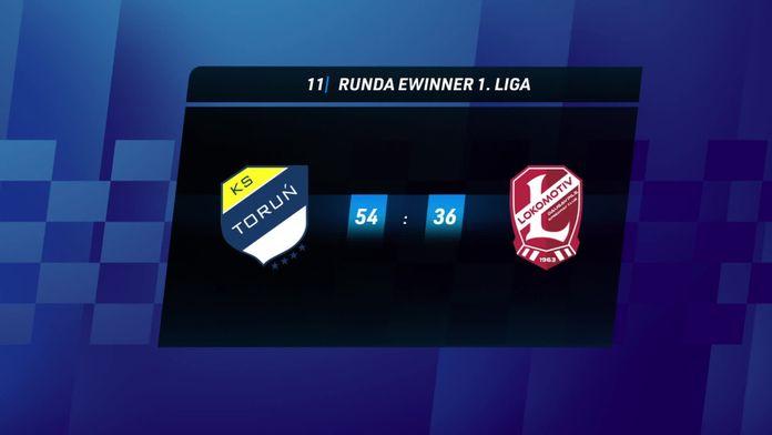 Skrót meczu Apator Toruń - Lokomotiv Daugavpils
