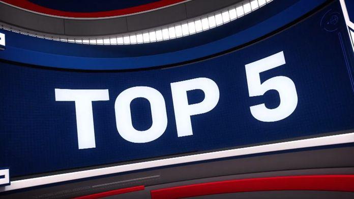 NBA: Top 5 zagrań z 18 września