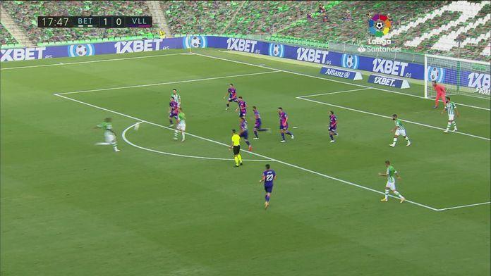 Skrót meczu Real Betis - Real Valladolid
