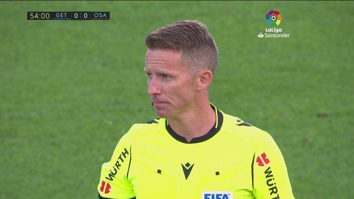 Skrót meczu Getafe - Osasuna