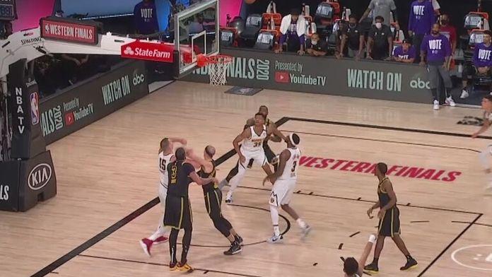 Skrót drugiego meczu Denver Nuggets - Los Angeles Lakers