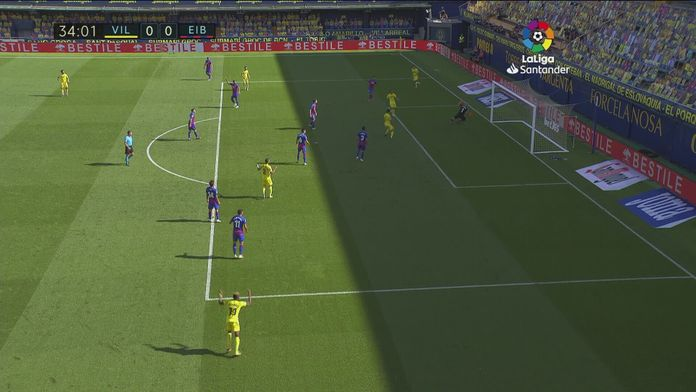 Skrót meczu Villarreal - Eibar SD