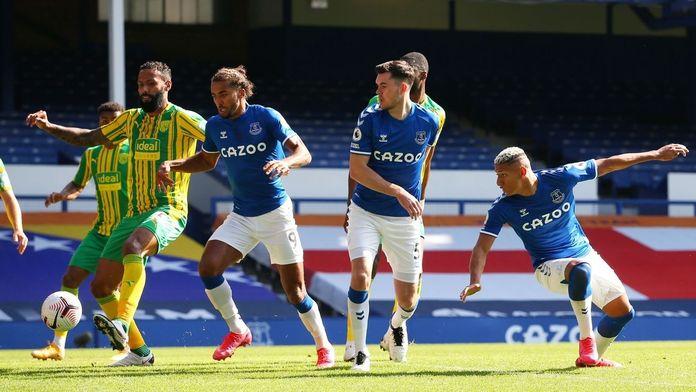 Skrót meczu Everton - West Bromwich Albion