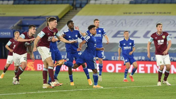 Skrót meczu Leicester - Burnley