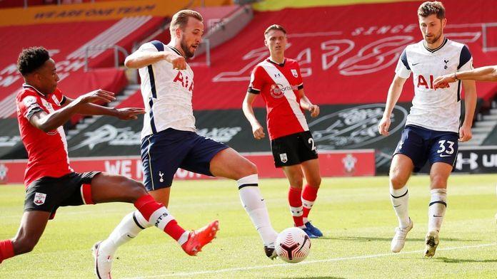 Skrót meczu Southampton - Tottenham