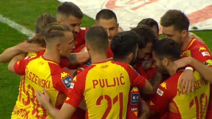 Skrót meczu Piast - Jagiellonia