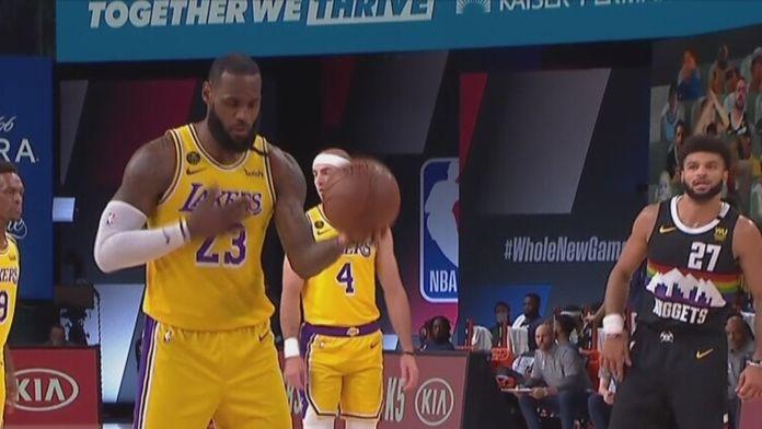 Finał Konferencji Zachodniej: Denver - Lakers [mecz nr 4]
