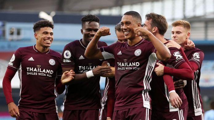 Skrót meczu Manchester City - Leicester