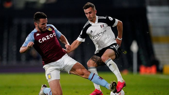 Skrót meczu Fulham - Aston Villa